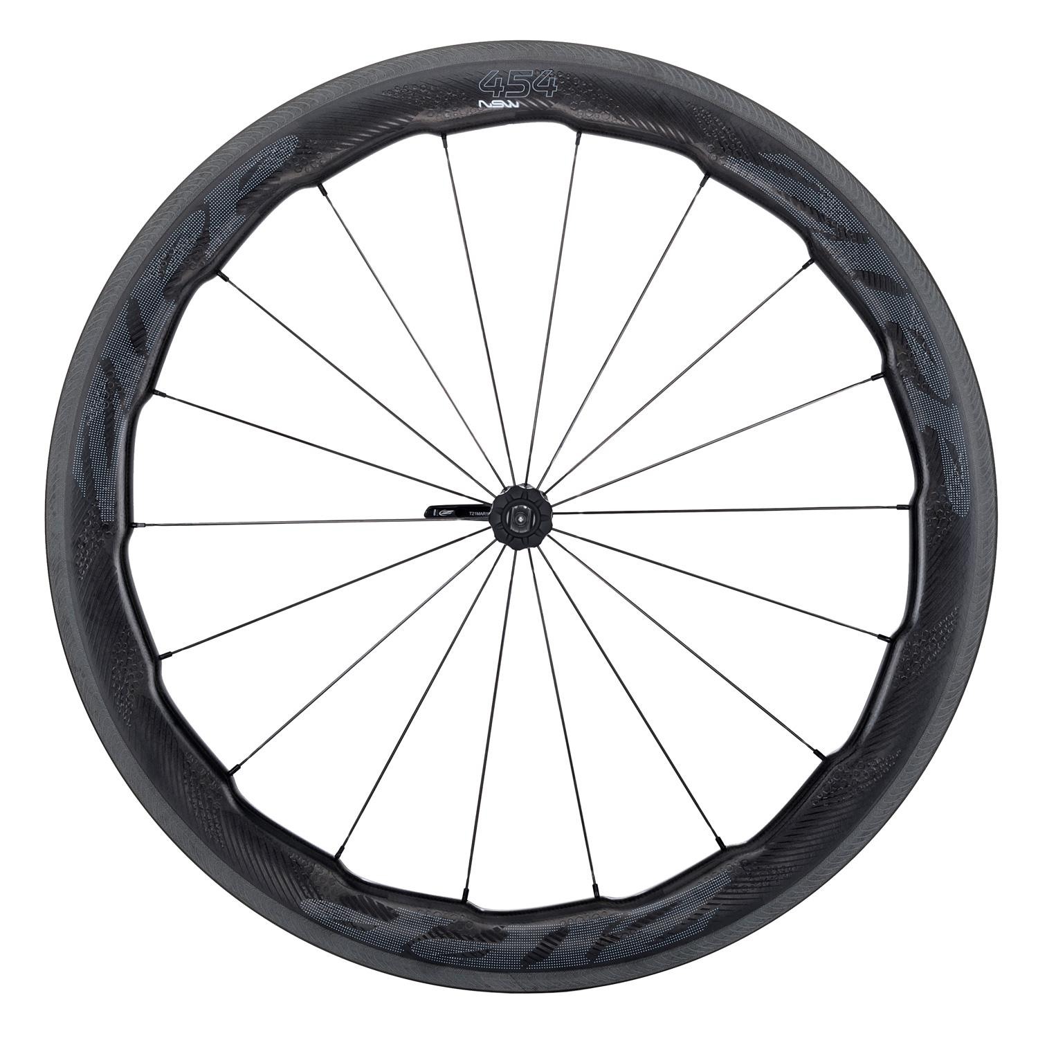 ZIPP WHEEL 454 NSW CARBON CLINCHER V1 FRONT CPG