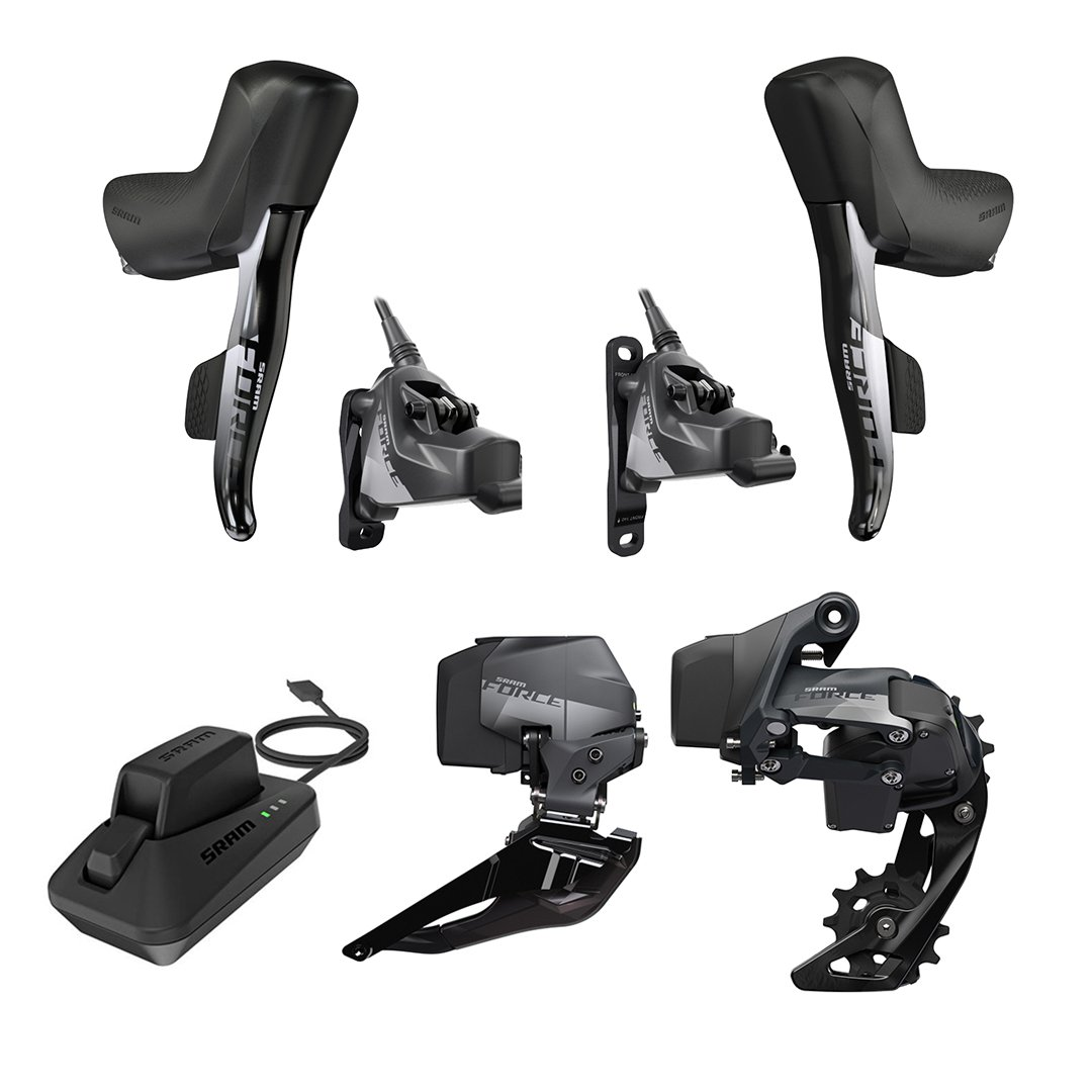 SRAM KIT ROAD 2X12 HYDRO FM FORCE ETAP AXS