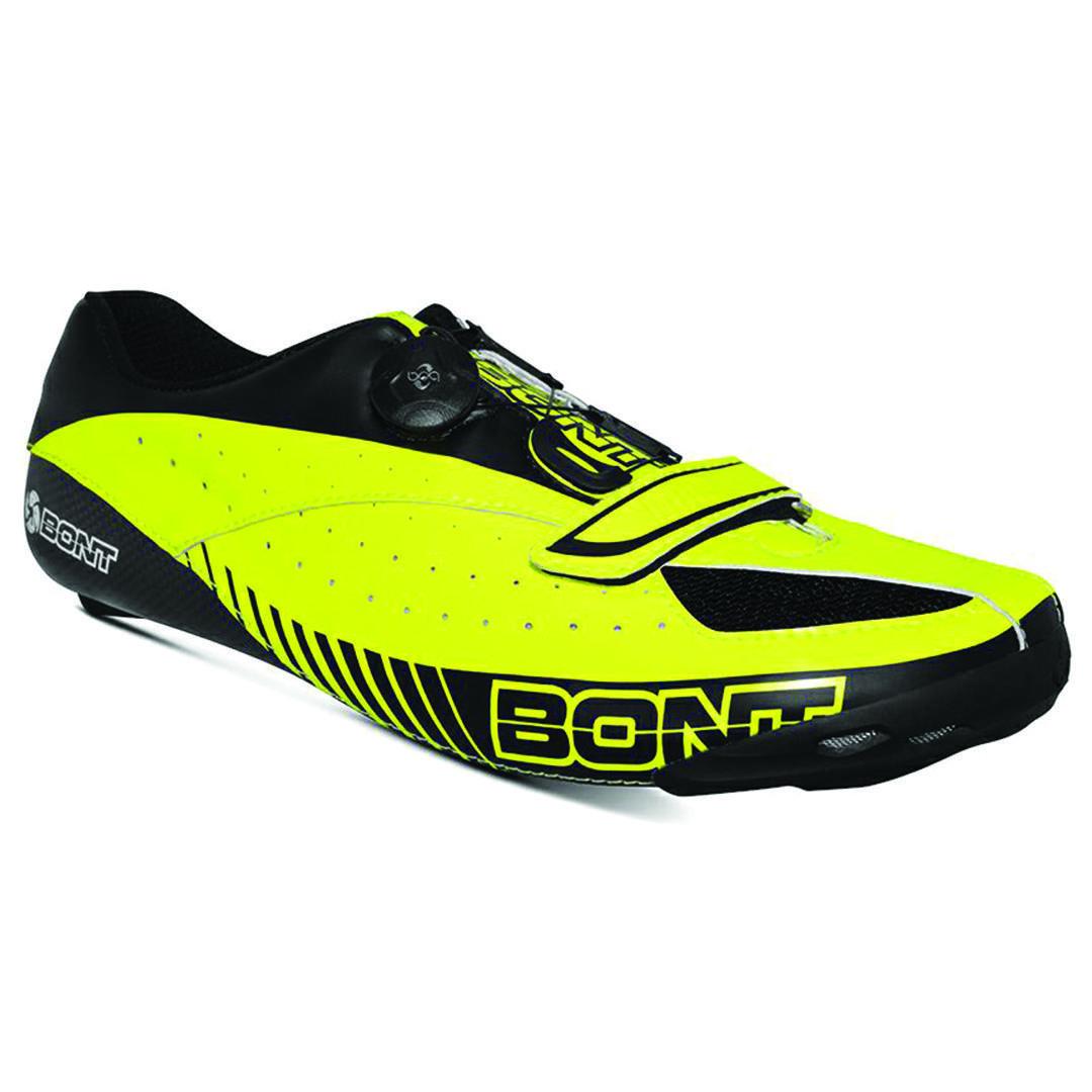 BONT BLITZ SHINY NEON YELLOW / BLACK
