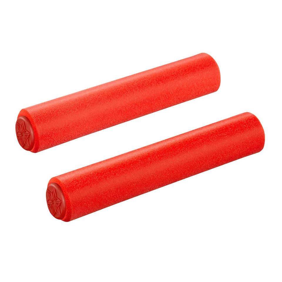 SUPACAZ GRIPS SILICONEZ SL L RED (32MM)