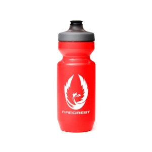 ZIPP BOTTLE 620ML / 21OZ FIRECREST LOGO (RED) - Click for more info