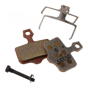SRAM PAD DISC AXS 2P / ELIXIR / LEVEL ORG / STL PWR - Click for more info