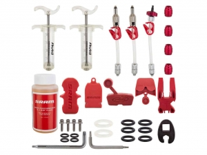 SRAM TOOL BRAKE HYDRO BLEED KIT PRO WITH DOT FLUID - Click for more info