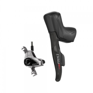 SRAM SHIFT/HYDRO DISC FLAT MOUNT ETAP RED LEFT HAND FRONT - Click for more info