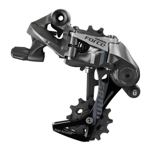 SRAM DERAILLEUR REAR MEDIUM CAGE FORCE1 3.0 11 SPEED SILVER / BLACK - Click for more info