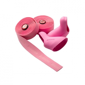 SRAM CORK BAR TAPE WITH DOUBLETAP LEVER HOODS PINK MY12 - Click for more info
