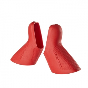SRAM MY13 Shift/Brake LeverHoods Red Red - Click for more info