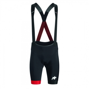 ASSOS BIB SHORT EQUIPE RS S9 NATIONAL RED - Click for more info