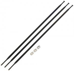 SRAM SPOKES S40 REAR NON-DRIVE 290MM BLACK 3PCS - Click for more info