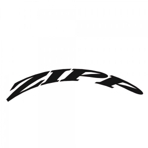 Zipp Rim Decals 404 One Whl Kit Matt Blk - Click for more info