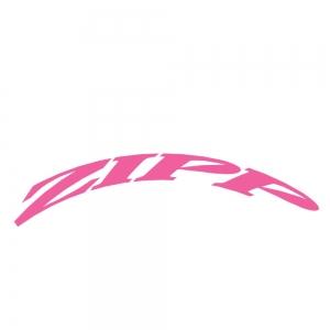 Zipp Rim Decals 202 One Whl Ki Matt Pink - Click for more info