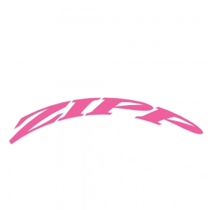 Zipp Rim Decals 303 One Whl Ki Matt Pink - Click for more info