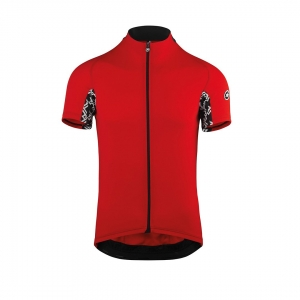 ASSOS JERSEY SS MILLE GT NATIONAL RED - Click for more info