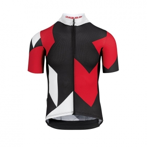 ASSOS FASTLANE ROCK SS JERSEY NATIONAL RED - Click for more info