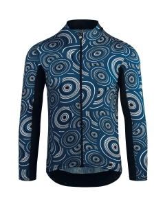 ASSOS JERSEY LS MILLE GT CAMOU CALEUM BLUE - Click for more info