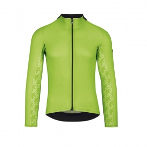 ASSOS MILLE GT LS JERSEY VISIBILITY GREEN - Click for more info