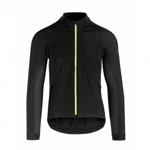 ASSOS JACKET SPRING / FALL MILLE GT YELLOW BADGE - Click for more info