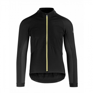 ASSOS JACKET GT MILLE SPRING / FALL YELLOW BADGE - Click for more info
