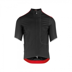 ASSOS SHELL RAIN JERSEY LIBERTY RS BLACK - Click for more info