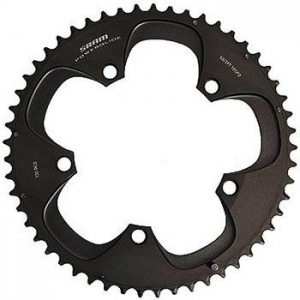 SRAM CRing Red 53T 10SP 130 BCD Blk - Click for more info