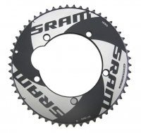 SRAM CRing TT RED 55T 130BCD 10SPD Blk - Click for more info
