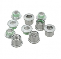 SRAM CRing Bolt Kit Al Qty5 Slv - Click for more info