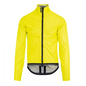 ASSOS EQUIPE RS RAIN JACKET EVO FLUO YELLOW - Click for more info