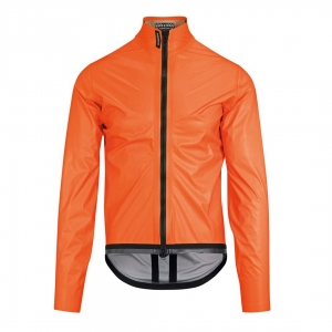 ASSOS EQUIPE RS RAIN JACKET EVO LOLLY RED - Click for more info