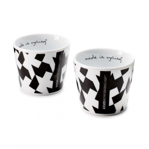 ASSOS COFFEE CUP MONOGRAM SET (2PCE) - Click for more info