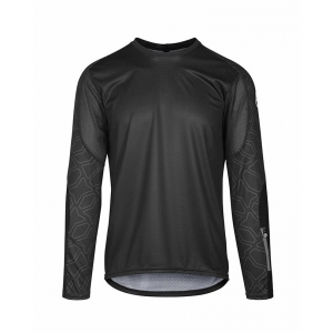ASSOS TRAIL LONG SLEEVE JERSEY BLACK SERIES - Click for more info