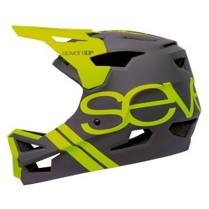 SEVEN IDP PROJECT23 ABS HELMET MATTE GREY & YELLOW - Click for more info