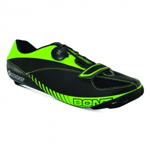 BONT BLITZ BLACK/TOTALLY LIME WIDE FIT - Click for more info