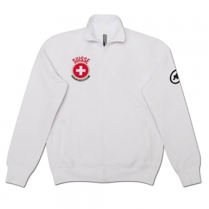 Assos Jacket Felpa SUI FedSign HolyWht M - Click for more info