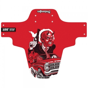 DIRTSURFER MUDGUARD - ROADRAGE RED - Click for more info