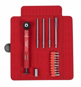 EFFETTO TOOL TORQ WRENCH PRO G2 2-16NM ANODIZED RED WRENCH - Click for more info
