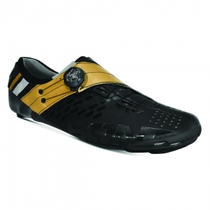 BONT HELIX BLACK/GOLD NARROW FIT - Click for more info