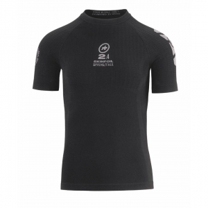 ASSOS SS SKINFOIL SPRING S7 BLACK - Click for more info
