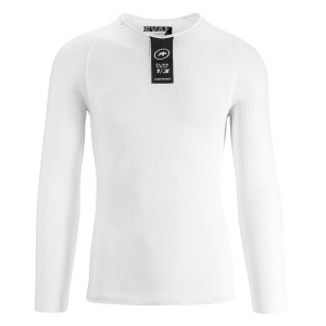 ASSOS INSULATED LS.SKINFOIL SUMMER HOLY WHITE (P13.40.424.57.0 0)