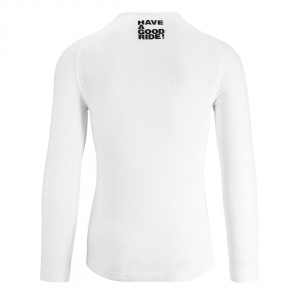 ASSOS INSULATED LS.SKINFOIL SUMMER HOLY WHITE