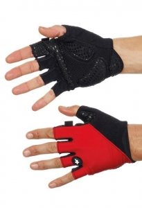 Assos Gloves summer_S7 Red SUI M - Click for more info