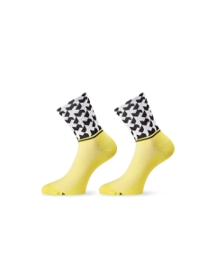 ASSOS SOCK MONOGRAM EVO8 VOLT YELLOW - Click for more info