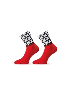 ASSOS SOCK MONOGRAM EVO8 NATIONAL RED - Click for more info