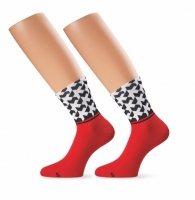 Assos Sock monogram_evo8 National Red II - Click for more info