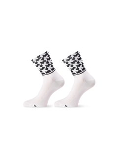 ASSOS SOCK MONOGRAM EVO8 HOLY WHITE - Click for more info