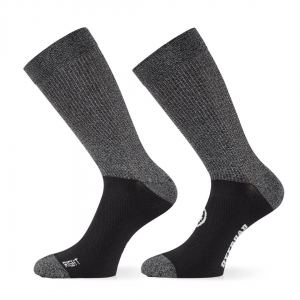 ASSOS TRAIL  SOCKS BLACK SERIES 0 - Click for more info