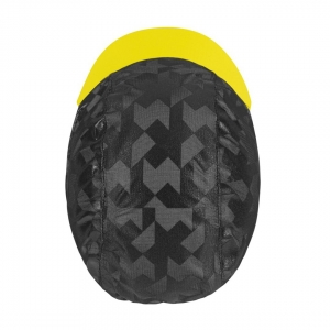 ASSOS EQUIPE RS RAIN CAP FLURO YELLOW - Click for more info