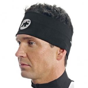 Assos Headband Int_S7 Black Volkanga II - Click for more info
