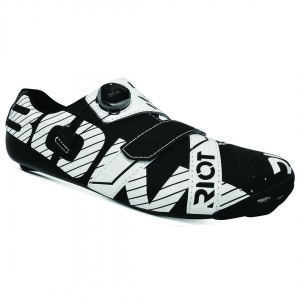BONT RIOT ROAD+ BLACK/WHITE WIDE FIT - Click for more info