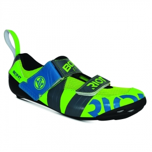 BONT RIOT TR+ TOTALLY LIME/CHARCOAL WIDE FIT - Click for more info