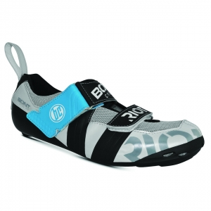 BONT RIOT TR+ PEARL WHITE/BLACK WIDE FIT - Click for more info